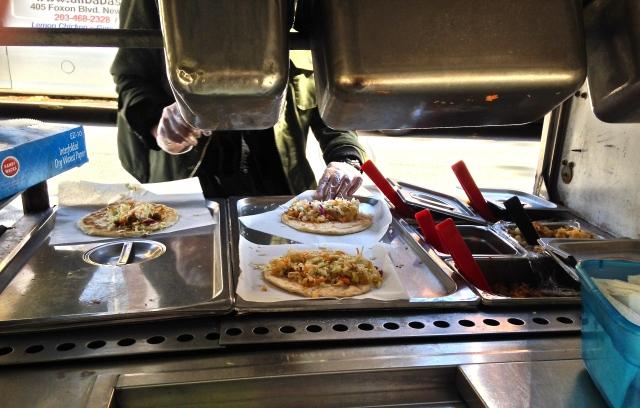 Belgali burrito making