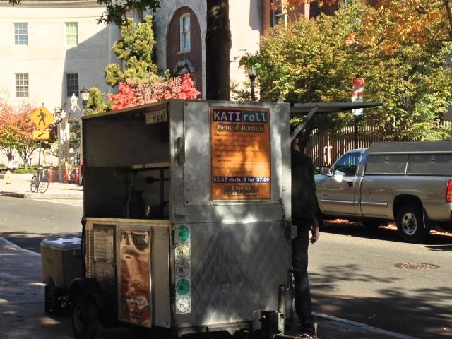 Bengali burrito cart, Oct 2013