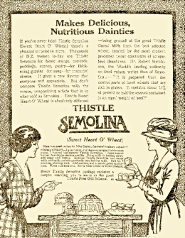 thistle-semoline-ad-nz-1919